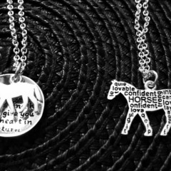 How about a little horse…around your neck?