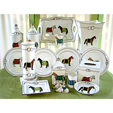 How about a little horse…in your dishware?